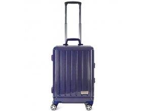 Kabinové zavazadlo AEROLITE T-095/2-S AL/PC - modrá  + PowerBanka nebo pouzdro zdarma