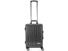 Kabinové zavazadlo AEROLITE T-095/2-S AL/PC - černá  + PowerBanka nebo pouzdro zdarma