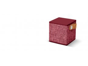 FRESH ´N REBEL Rockbox Cube Fabriq Edition Bluetooth reproduktor, Ruby, rubínově červený