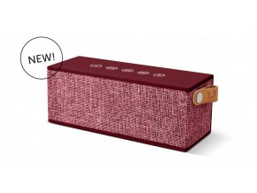 FRESH ´N REBEL Rockbox Brick Fabriq Edition Bluetooth reproduktor, Ruby, rubínově červený