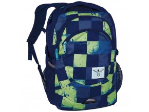 Chiemsee Harvard backpack S17 Swirl Checks  + PowerBanka nebo pouzdro zdarma