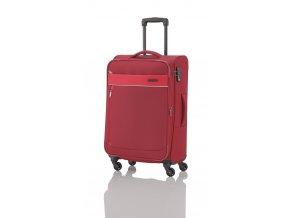 Travelite Delta 4w M Red