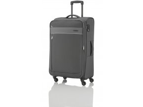 Travelite Delta 4w L Grey