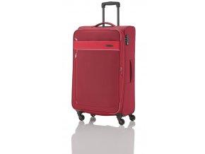 Travelite Delta 4w L Red  + Pouzdro zdarma