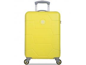 Kabinové zavazadlo SUITSUIT® TR-1242/3-S ABS Caretta Blazing Yellow  + Pouzdro zdarma