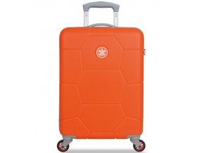 Kabinové zavazadlo SUITSUIT® TR-1245/3-S ABS Caretta Popsicle Orange  + Pouzdro zdarma