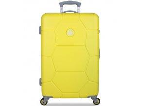 Cestovní kufr SUITSUIT® TR-1242/3-M ABS Caretta Blazing Yellow  + PowerBanka nebo pouzdro zdarma