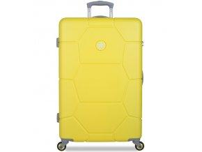 Cestovní kufr SUITSUIT® TR-1242/3-L ABS Caretta Blazing Yellow  + PowerBanka nebo pouzdro zdarma