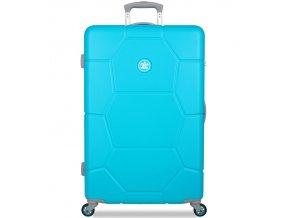 Cestovní kufr SUITSUIT® TR-1244/3-L ABS Caretta Ocean Blue  + PowerBanka nebo pouzdro zdarma