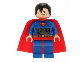 LEGO DC Super Heroes Superman - hodiny s budíkem