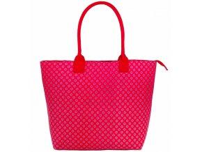 Dámská taška JAZZI 3155 - tmavě růžová