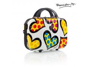 Heys Britto Beauty Case Hearts Carnival  + PowerBanka nebo pouzdro zdarma