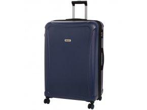 Cestovní kufr ROCK TR-0158/3-XL DUR - tmavě modrá  + PowerBanka nebo pouzdro zdarma