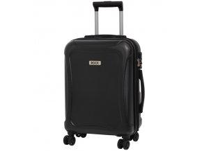 Kabinové zavazadlo ROCK TR-0158/3-S DUR - černá  + PowerBanka nebo pouzdro zdarma
