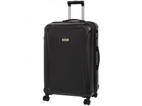 Cestovní kufr ROCK TR-0158/3-L DUR - černá  + PowerBanka nebo pouzdro zdarma