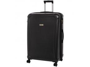 Cestovní kufr ROCK TR-0158/3-XL DUR - černá  + PowerBanka nebo pouzdro zdarma