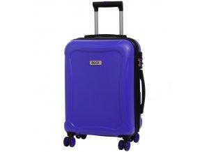 Kabinové zavazadlo ROCK TR-0158/3-S DUR - modrá  + PowerBanka nebo pouzdro zdarma