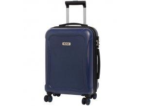 Kabinové zavazadlo ROCK TR-0158/3-S DUR - tmavě modrá  + PowerBanka nebo pouzdro zdarma