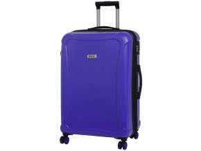 Cestovní kufr ROCK TR-0158/3-L DUR - modrá  + PowerBanka nebo pouzdro zdarma