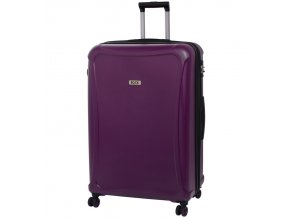 Cestovní kufr ROCK TR-0158/3-XL DUR - fialová  + PowerBanka nebo pouzdro zdarma