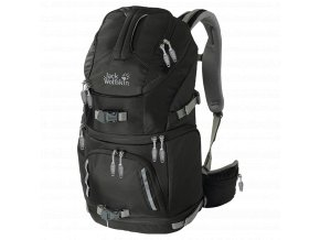 Jack Wolfskin ACS PHOTO PACK PRO Black - fotobatoh