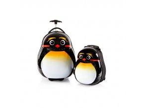Heys Travel Tots Lightweight Kids Emperor Penguin – sada batohu a kufru