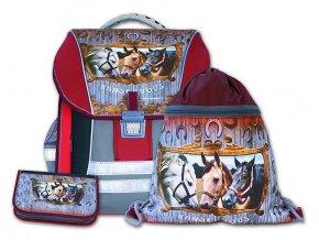 Školní batohový set Randezvous 3-dílný   + Pouzdro zdarma