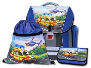 Školní batohový set Záchranáři 3-dílný   + Pouzdro zdarma