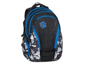 Bagmaster BAG 7 H BLACK/GREY/BLUE  + Pouzdro zdarma