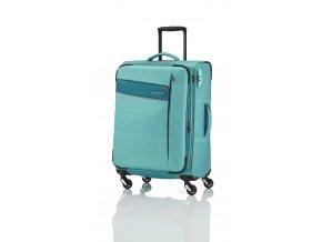 Travelite Kite 4w S,M,L Mint – sada 3 kufrů + BB