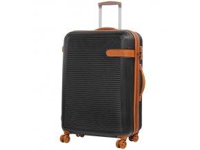 Cestovní kufr ROCK TR-0159/3-L ABS - černá  + PowerBanka nebo pouzdro zdarma