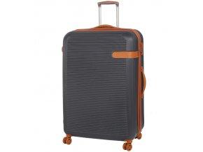 Cestovní kufr ROCK TR-0159/3-XL ABS - charcoal  + PowerBanka nebo pouzdro zdarma