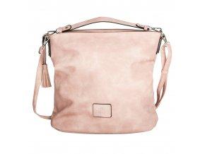 Travelite Lichtblau Handbag Rosé