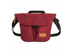 Travelite Basics Messenger Bag Small Bordeaux