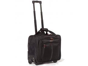 Kufr příruční na notebook AEROLITE WLB31 - černá  + Pouzdro zdarma