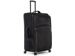 Cestovní kufr AEROLITE T-9378/3-M - černá  + PowerBanka nebo pouzdro zdarma