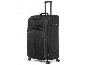 Cestovní kufr AEROLITE T-9378/3-L - černá  + PowerBanka nebo pouzdro zdarma
