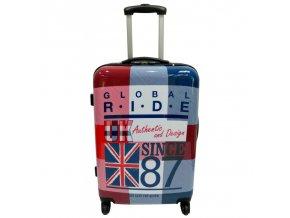 G.RIDE kufr GLOBAL RIDE england 70  + PowerBanka nebo pouzdro zdarma