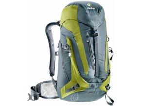 Deuter  ACT Trail 24 granite-moss - Batoh  + PowerBanka nebo pouzdro zdarma
