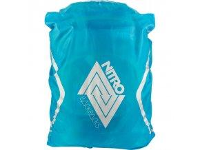 NITRO pláštěnka na batoh RAINCOVER acid blue