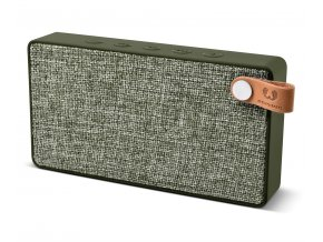 FRESH ´N REBEL Rockbox Slice Fabriq Edition Bluetooth reproduktor, Army, vojenská zelená