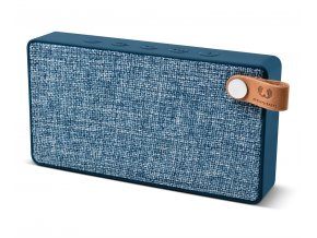 FRESH ´N REBEL Rockbox Slice Fabriq Edition Bluetooth reproduktor, Indigo, indigově modrý