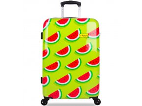 Cestovní kufr B.HPPY BH-1606/3-M - Two In A Melon  + PowerBanka nebo pouzdro zdarma