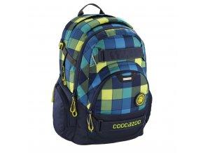 Školní batoh Coocazoo CarryLarry2, Lime District  + PowerBanka nebo pouzdro zdarma