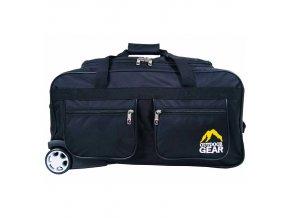 """Cestovní taška na kolečkách GEAR T-705/24"""" - černá"""