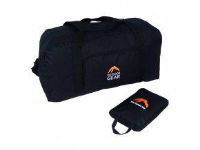 Cestovní taška skládací GEAR 9423 - černá