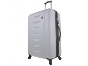 Cestovní kufr MIA TORO M1014/3-L - bílá  + PowerBanka nebo pouzdro zdarma