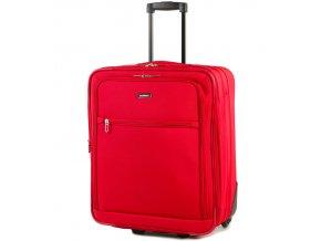 Cestovní kufr MEMBER'S TR-0154/1-S - červená