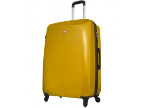 Cestovní kufr MIA TORO M1015/3-L - žlutá  + PowerBanka nebo pouzdro zdarma