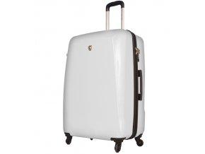 Kabinové zavazadlo MIA TORO M1015/3-S - bílá  + Pouzdro zdarma